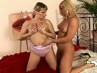 Lesbian milfs fuck each other